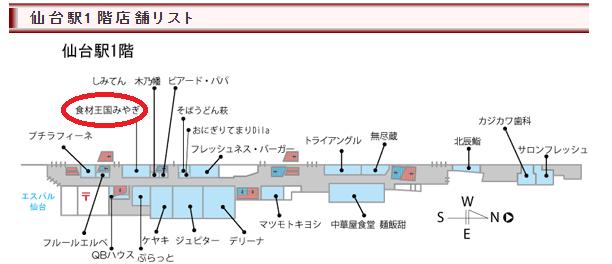 さいち おはぎ 仙台駅 食材王国1