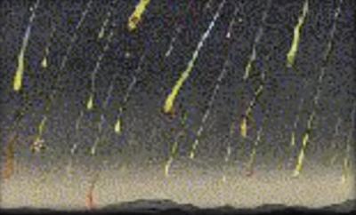 しし座流星群 流星嵐