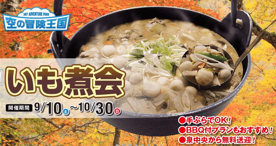 仙台 芋煮 会場 スプリングバレー