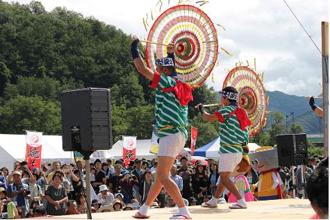 山形芋煮フェスティバル花笠踊り